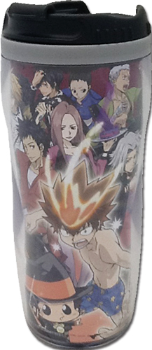 Reborn! - Group Black Tumbler officially licensed Reborn! Mugs & Tumblers product at B.A. Toys.