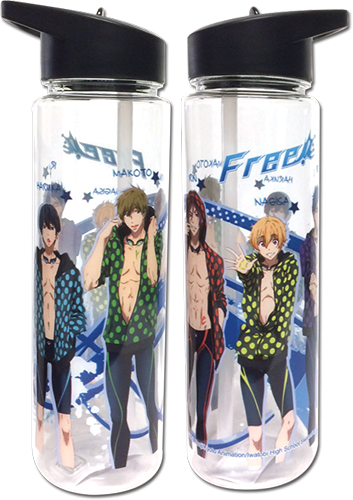 Free! - Group Tritan Water Bottle officially licensed Free! Mugs & Tumblers product at B.A. Toys.