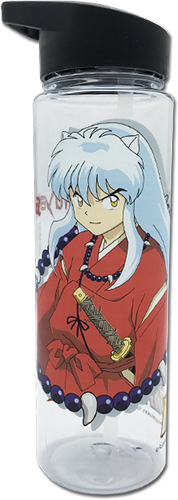 Inuyasha - Inuyasha Tritan Water Bottle officially licensed Inuyahsa Mugs & Tumblers product at B.A. Toys.