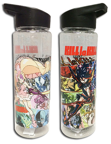 Kill La Kill - Group Tritan Water Bottle officially licensed Kill La Kill Mugs & Tumblers product at B.A. Toys.