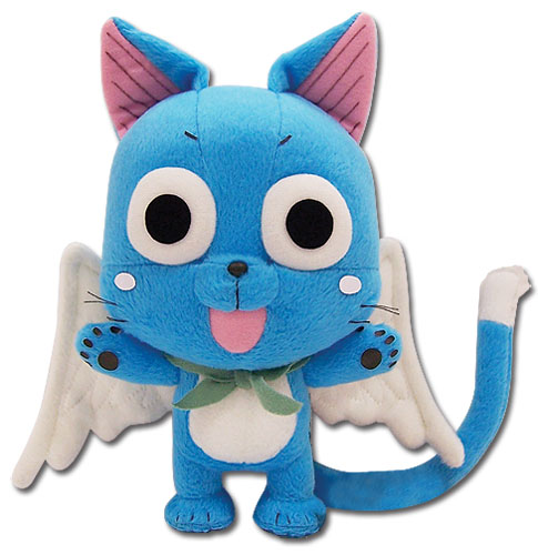 Fairy Tail Happy Plush 8, an officially licensed Fairy Tail product at B.A. Toys.