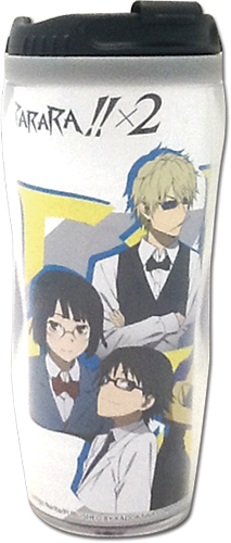Durarara!!X2 - Group Tumbler, an officially licensed product in our Durarara!! Mugs & Tumblers department.