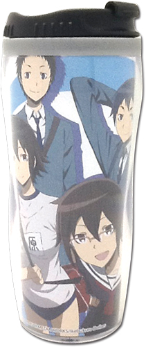 Durarara!!X2 - Student Group Tumbler, an officially licensed product in our Durarara!! Mugs & Tumblers department.