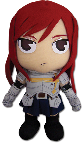Fairy Tail Erza 8 Plush, an officially licensed Fairy Tail product at B.A. Toys.