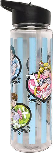 Sailor Moon Super S - Sailor Inner Tritan Water Bottle, an officially licensed product in our Sailor Moon Mugs & Tumblers department.