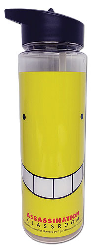 Assassination Classroom - Koro Face Tritan Water Bottle, an officially licensed product in our Assassination Classroom Mugs & Tumblers department.