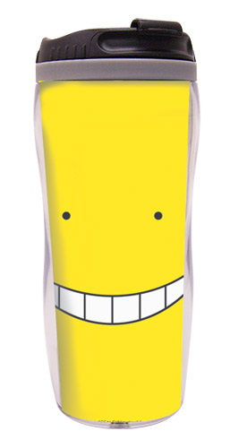 Assassination Classroom - Koro Face Tumbler, an officially licensed product in our Assassination Classroom Mugs & Tumblers department.