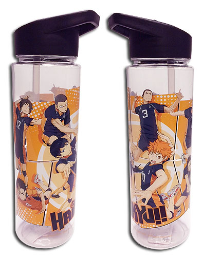 Haikyu!! - Group Tritan Water Bottle officially licensed Haikyu!! Mugs & Tumblers product at B.A. Toys.