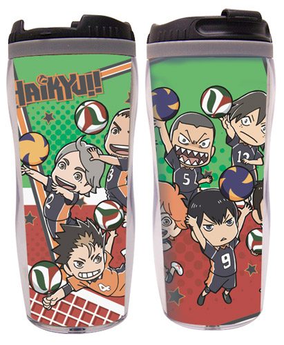 Haikyu!! - Group 3 Tumbler, an officially licensed product in our Haikyu!! Mugs & Tumblers department.