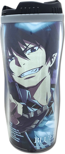 Blue Exorcist - Rin & Yuko Tumbler, an officially licensed product in our Blue Exorcist Mugs & Tumblers department.