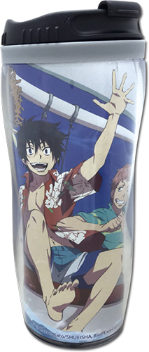 Blue Exorcist - Group In Ship Tumbler officially licensed Blue Exorcist Mugs & Tumblers product at B.A. Toys.