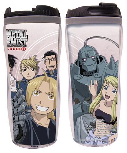 Fullmetal Alchemist Brotherhood - Mother Alchemy & Group Tumbler, an officially licensed product in our Fullmetal Alchemist Mugs & Tumblers department.