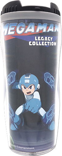 Megaman - Fight Tumbler officially licensed Mega Man Mugs & Tumblers product at B.A. Toys.
