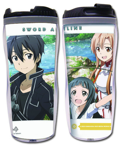 Sword Art Online - Group #3 Tumbler, an officially licensed product in our Sword Art Online Mugs & Tumblers department.