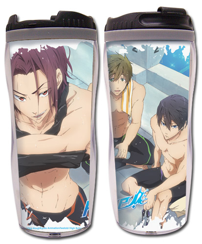 Free! - Group #1 Tumbler, an officially licensed product in our Free! Mugs & Tumblers department.