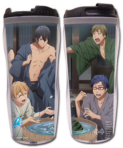 Free! - Group #2 Tumbler, an officially licensed product in our Free! Mugs & Tumblers department.