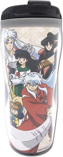 Inuyasha - Group #1 Tumbler, an officially licensed product in our Inuyahsa Mugs & Tumblers department.