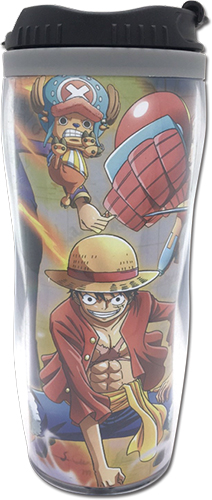 One Piece - Battle Behavior Tumbler, an officially licensed product in our One Piece Mugs & Tumblers department.