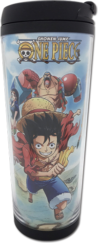 One Piece - Run The World Tumbler officially licensed One Piece Mugs & Tumblers product at B.A. Toys.
