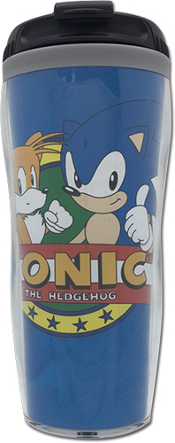 Sonic The Hedgehog - Sonic & Tails Tumbler officially licensed Sonic Mugs & Tumblers product at B.A. Toys.