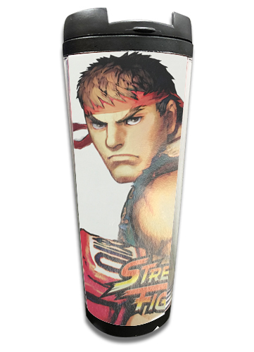 Street Fighter Iv - Ryu Tumbler officially licensed Street Fighter Mugs & Tumblers product at B.A. Toys.