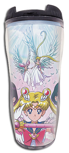 Sailor Moon Supers - Group #1 Tumbler officially licensed Sailor Moon Mugs & Tumblers product at B.A. Toys.