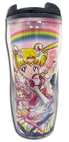 Sailor Moon Supers - Group #2 Tumbler officially licensed Sailor Moon Mugs & Tumblers product at B.A. Toys.