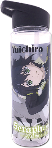 Seraph Of The End - Group Tritan Water Bottle officially licensed Seraph Of The End Mugs & Tumblers product at B.A. Toys.