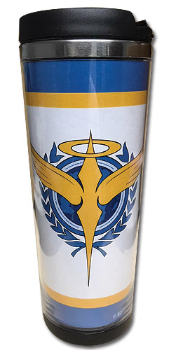 Gundam 00 - Celestial Being Tumbler, an officially licensed product in our Gundam 00 Mugs & Tumblers department.