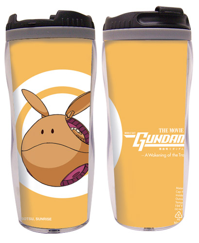 Gundam 00 Movie - Haro Tumbler officially licensed Gundam 00 Mugs & Tumblers product at B.A. Toys.