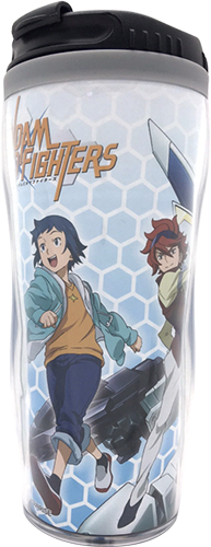 Gundam Build Fighters - Group #2 Tumbler, an officially licensed product in our Gundam Build Fighters Try Mugs & Tumblers department.