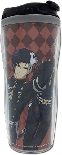 Seraph Of The End - Guren & Shinya Tumbler officially licensed Seraph Of The End Mugs & Tumblers product at B.A. Toys.