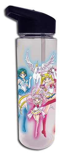 Sailor Moon - Group Tritan Water Bottle officially licensed Sailor Moon Mugs & Tumblers product at B.A. Toys.