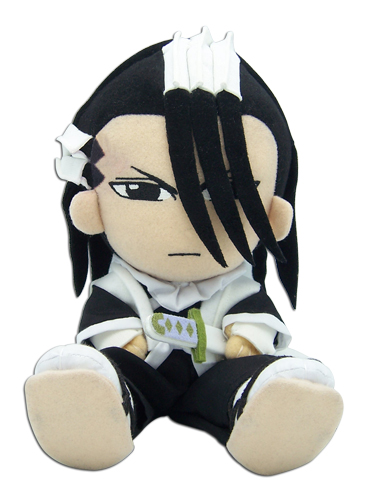 Bleach Byakuya Plush, an officially licensed product in our Bleach Plush department.