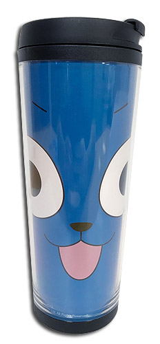 Fairy Tail - Happy Tumbler, an officially licensed product in our Fairy Tail Mugs & Tumblers department.