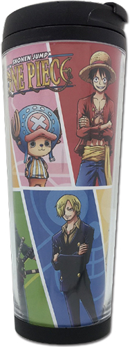 One Piece - Color Group Tumbler officially licensed One Piece Mugs & Tumblers product at B.A. Toys.