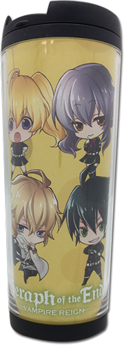 Seraph Of The End - Sd Group Tumbler officially licensed Seraph Of The End Mugs & Tumblers product at B.A. Toys.