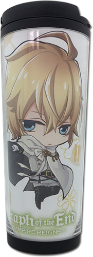 Seraph Of The End - Mikaela Tumbler, an officially licensed product in our Seraph Of The End Mugs & Tumblers department.
