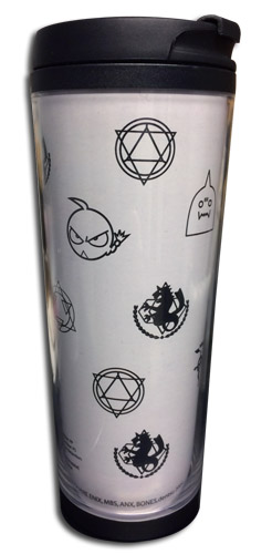 Fullmetal Alchemist - Symbol Tumbler officially licensed Fullmetal Alchemist Mugs & Tumblers product at B.A. Toys.