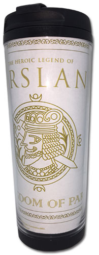 Heroic Legend Of Arslan - Kingdom Of Pars Tumbler officially licensed Heroic Legend Of Arslan Mugs & Tumblers product at B.A. Toys.