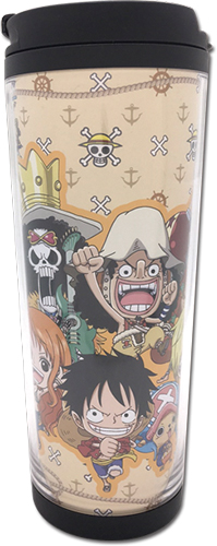 One Piece - Sd Group 01 Tumbler, an officially licensed product in our One Piece Mugs & Tumblers department.