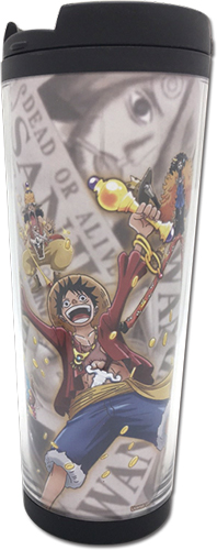 One Piece - Group 001 Tumbler, an officially licensed product in our One Piece Mugs & Tumblers department.