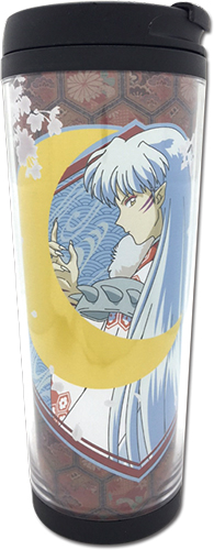 Inuyasha - Sesshomaru Tumbler officially licensed Inuyahsa Mugs & Tumblers product at B.A. Toys.
