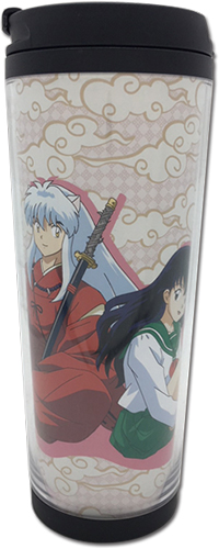 Inuyasha - Inuyasha & Kagome Tumbler officially licensed Inuyahsa Mugs & Tumblers product at B.A. Toys.
