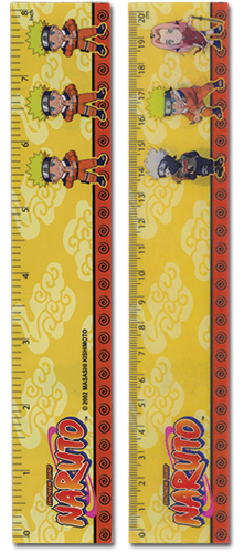 Naruto Group Lenticular Ruler (5 Pcs/Pack) officially licensed Naruto Stationery product at B.A. Toys.