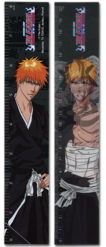 Bleach Ichigo Lenticular Ruler (5 Pcs/pack), an officially licensed Bleach Stationery