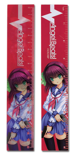 Angel Beats - Yuri Lenticular Ruler (5 Pcs/Pack), an officially licensed Angel Beats product at B.A. Toys.