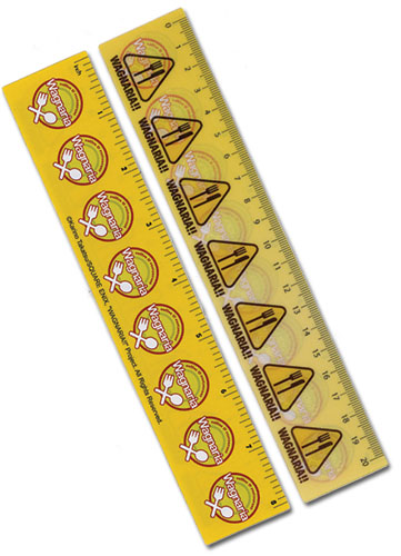 Wagnaria!! Logo Lenticular Ruler (5 Pcs/Pack) officially licensed Wagnaria!! Stationery product at B.A. Toys.