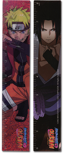 Naruto Shippuden Group Lenticular Ruler (5 Pcs/Pack) officially licensed Naruto Shippuden Stationery product at B.A. Toys.