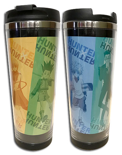 Hunter X Hunter - Full-Length Art Tumbler officially licensed Hunter X Hunter Mugs & Tumblers product at B.A. Toys.